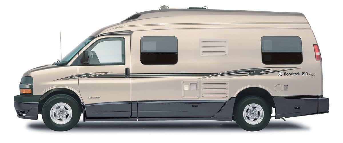 Roadtrek 210 Popular Class B Motorhome Camper Van Sand
