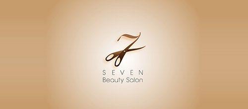 Seven Beauty Salon Logo Designs