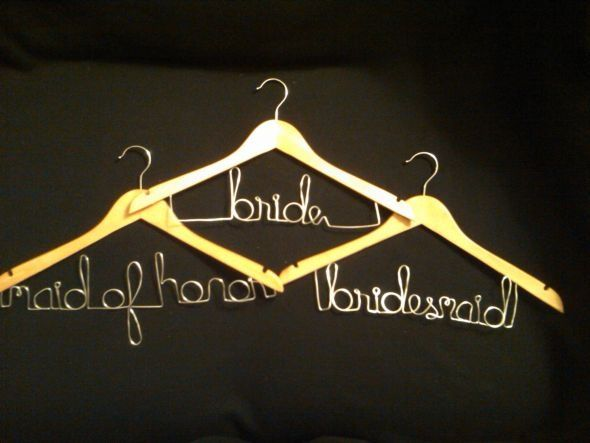 Diy Personalized Hangers Tutorial Diy Wedding Hangers