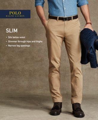 Polo Ralph Lauren Slim-Fit Bedford Chino Pants - Pants - Men - Macy's