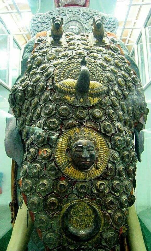 - Testera de armadura de elefante . India ./tcc/