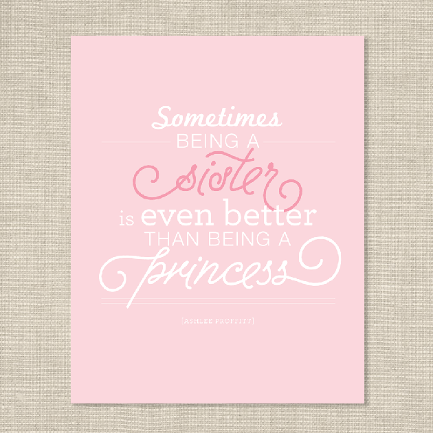 Little Sister Quotes These Big Brother And Big Sister Prints