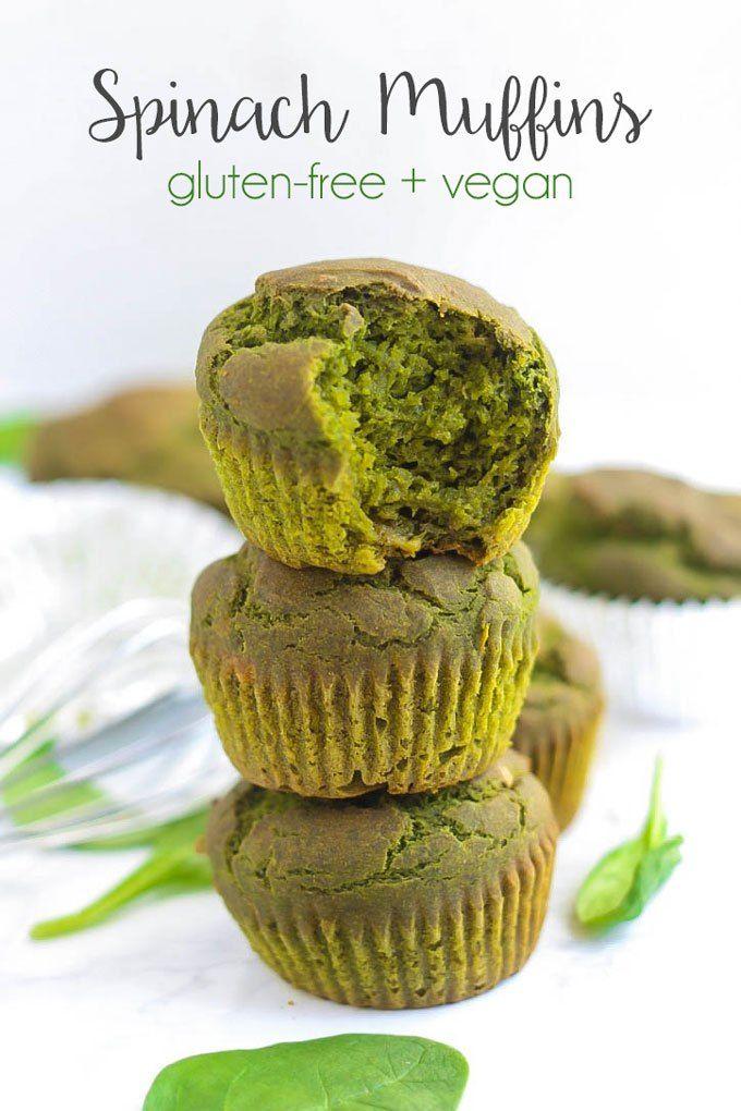 Gluten-Free Spinach Muffins – Emilie Eats