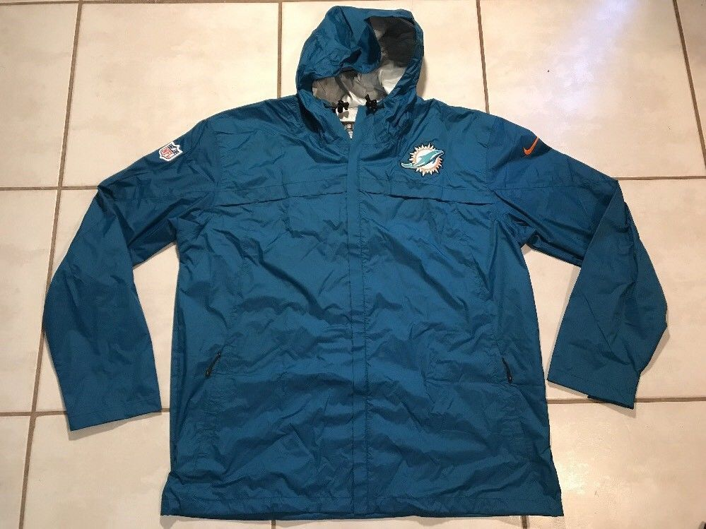 buy online 5ce2c 7ef3a NWOT NIKE NFL On Field Storm Fit Miami Dolphins Lightweight ...
