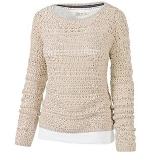 Fat Face Millie Crochet Vest and Jumper