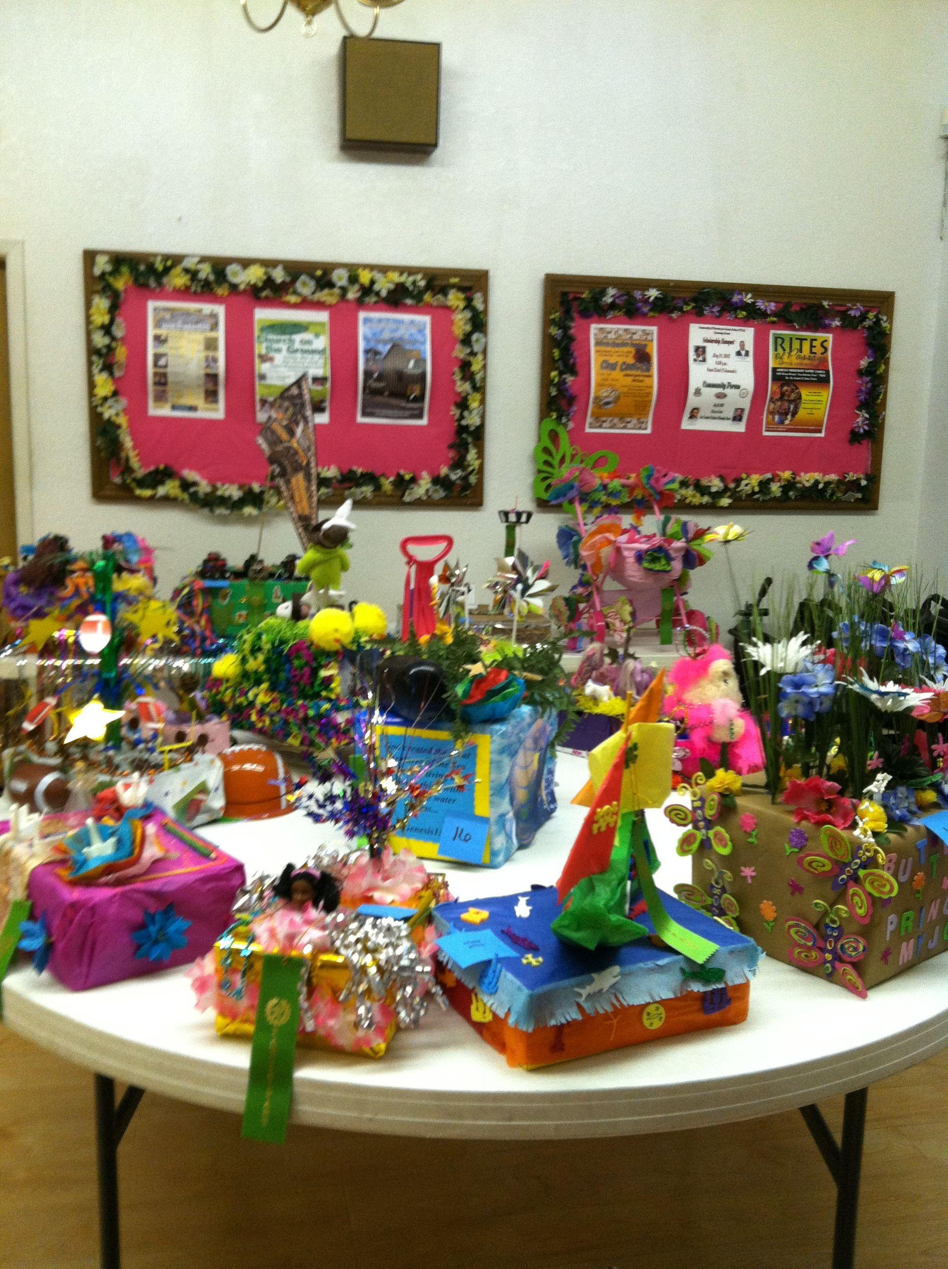 Academy Students Fiesta Floats Summer Crafts Fun At