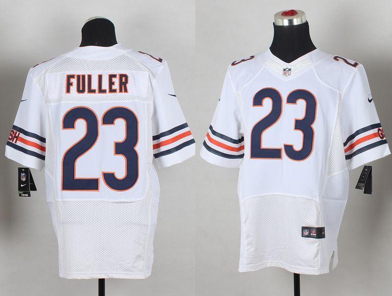 982aaaa70 Chicago Bears  23 Fuller white 2014 Nike NFL Draft Elite jerseys ...