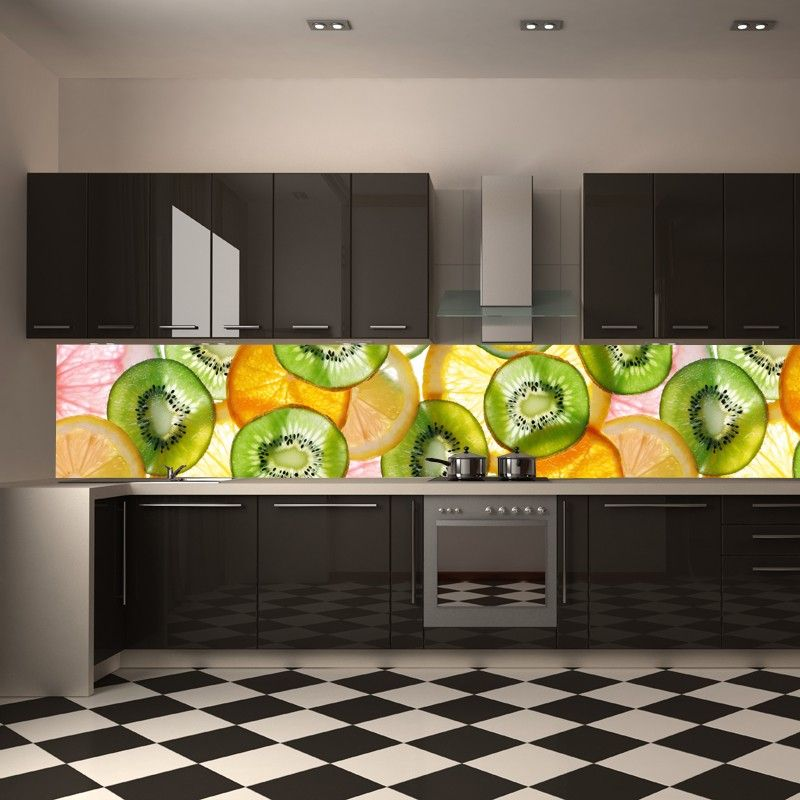 amazing kitchen photo wallpaper instead of tiles wall mural mural