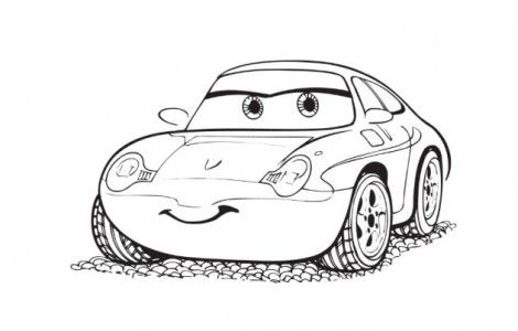 Cars The Movie Coloring Pages  David's  Year Old Bday Ideas