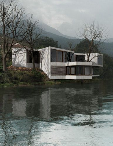 HHF architects in collaboration with the artist Ai Weiwei design the Treehouse in Lijiang