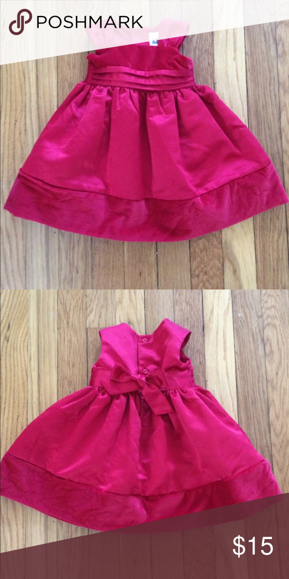 ebea260aebaa Carter s Baby Girl 6-month Red Holiday Party dress