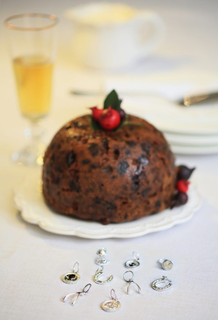 Silver Celebrations - Christmas Pudding Charms - Sterling
