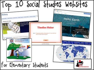 Top 10 Social Studies Websites