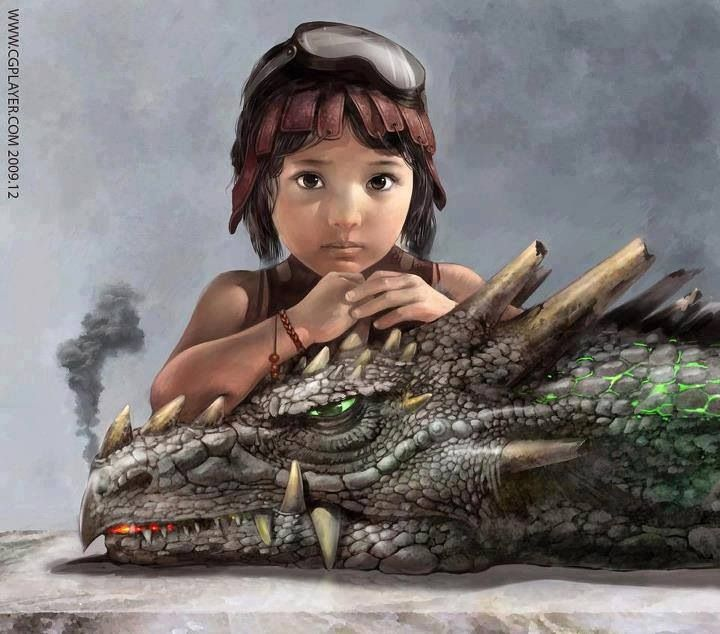 """""""Grandma and Grandpa always knew Mum had a thing for dragons. She would scare the wits out of them whenever she was around dragons as a child."""" {o.c.}"""