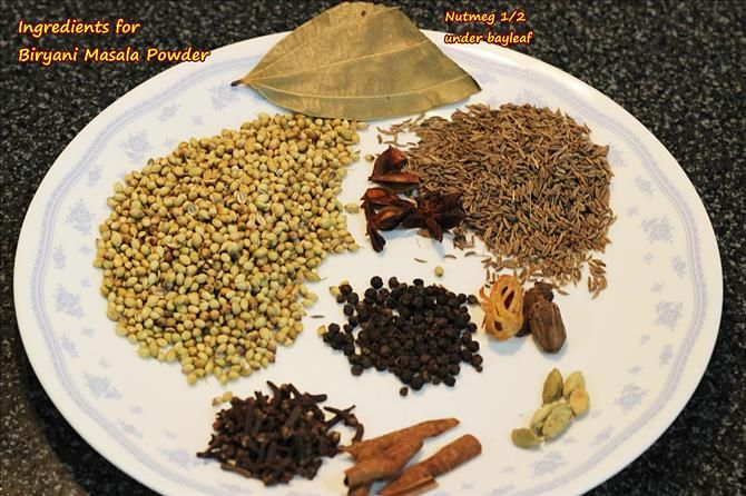 Biryani masala powder recipe how to make biryani masala recipe ingredients spices for biryani masala powder ccuart Choice Image