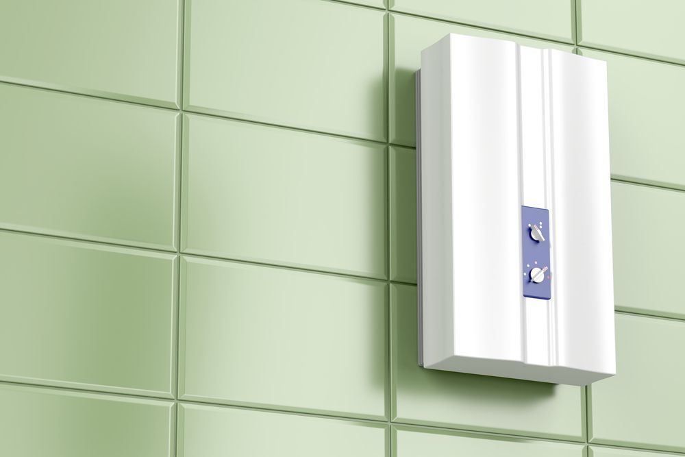 A quick walkaround of tankless water heaters heating