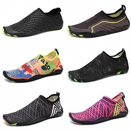 0dc67d71ed1f CIOR Men and Women s Barefoot Quick-Dry Water Sports Aqua Shoes with 14  Drainage Holes