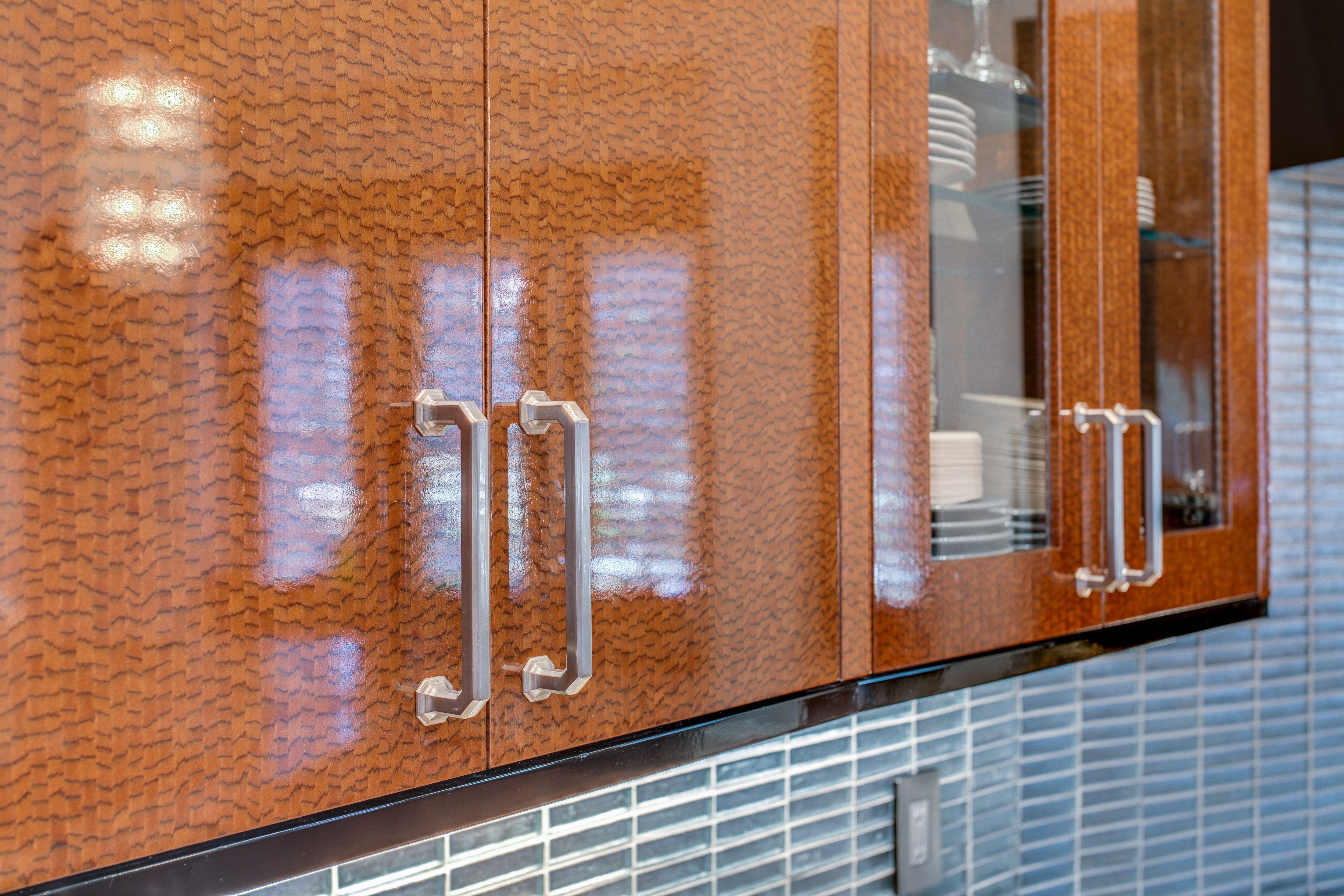 Kitchen Cabinets Dallas New Haven Door Vista Arabica Wood Print Elmwood Cabinetry With