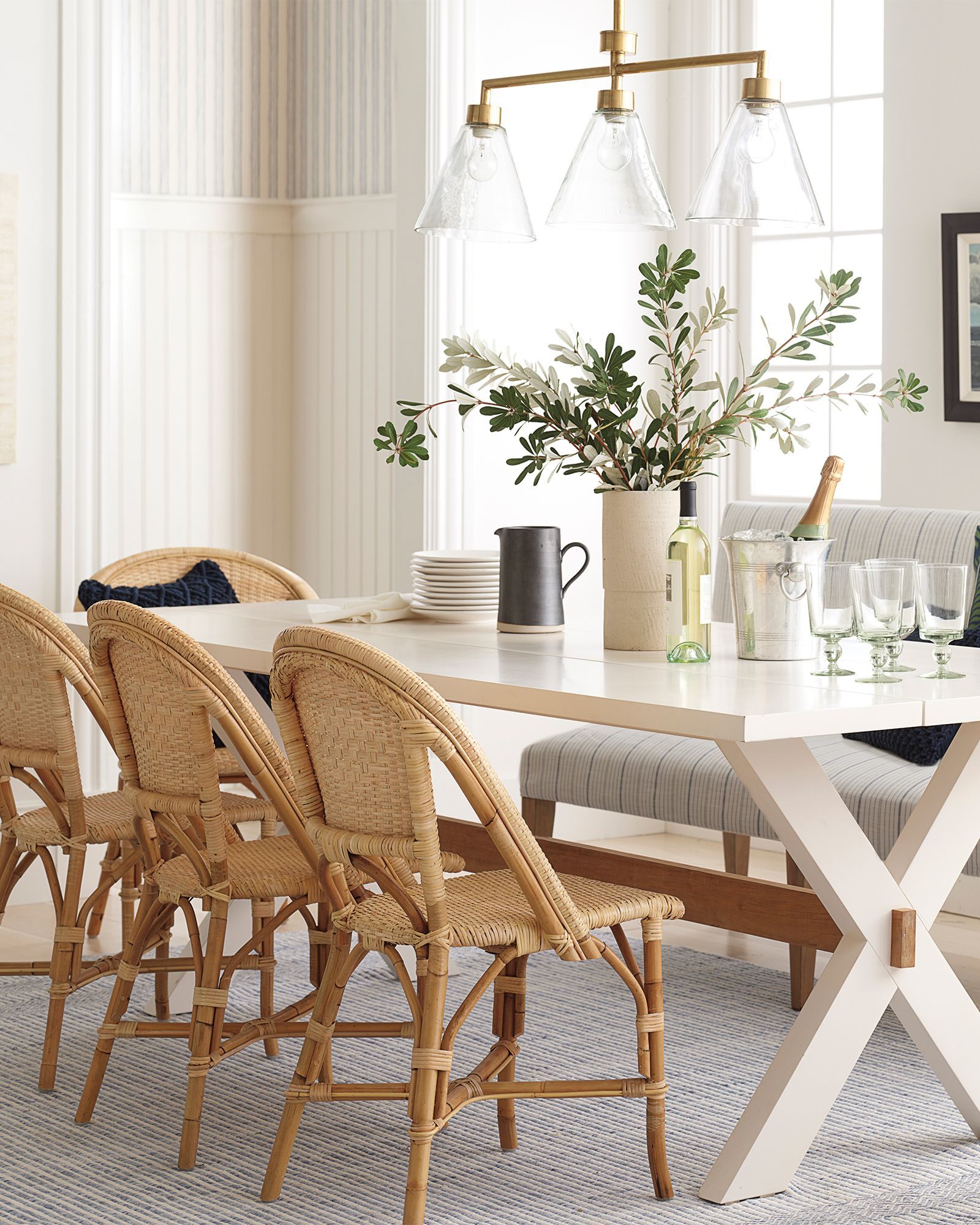 Sunwashed Riviera Side Chair Bistro Chairs Dining Room