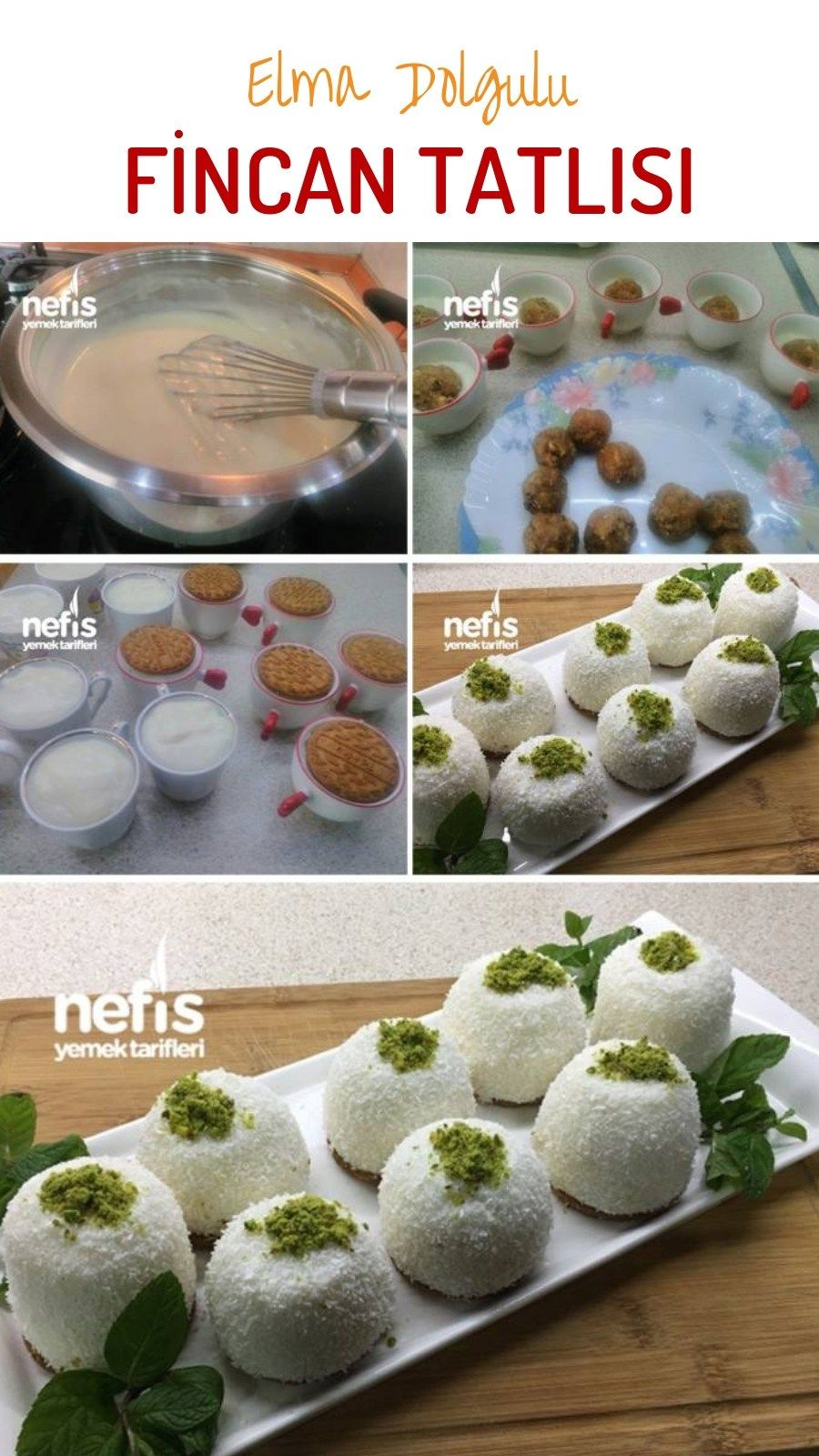 Photo of Apple Filled Cup Dessert – Delicious Recipes