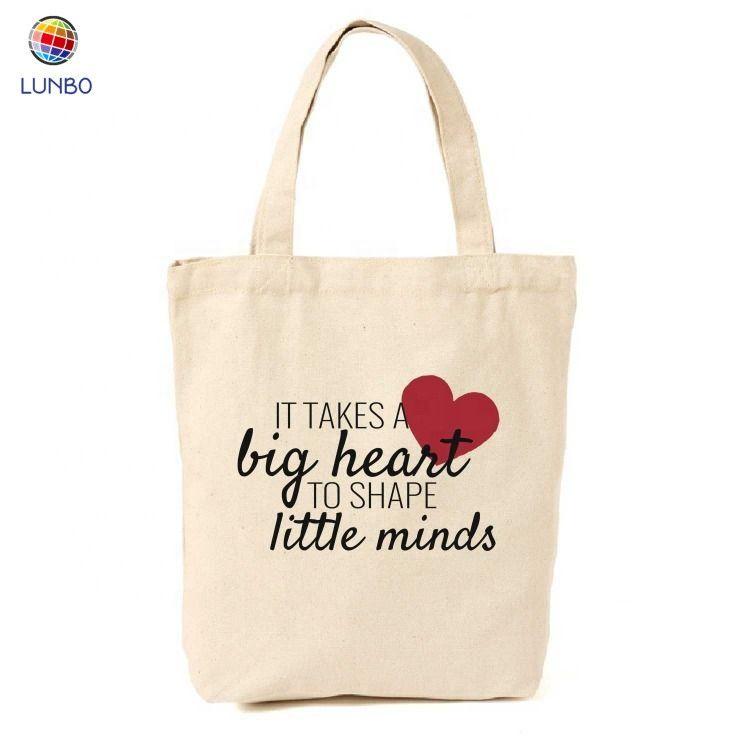 Teaching is a Work of Heart Teacher Canvas Tote Bag Custom Tote Bag Teacher Bag Teacher Gift Idea