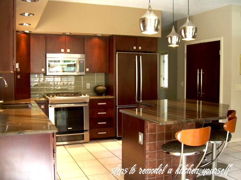 Steps To Remodel A Kitchen Yourself