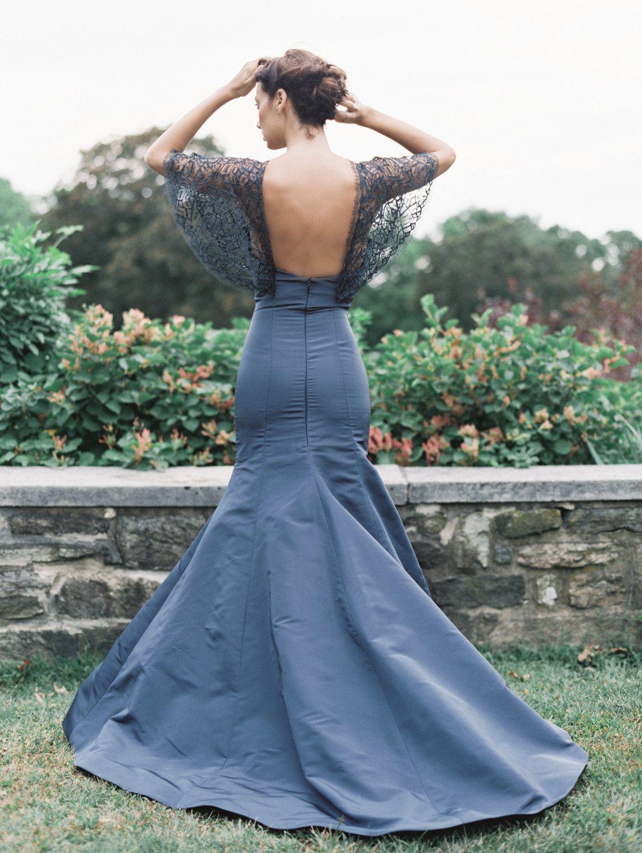 Blue wedding dress inspiration from sareh nouri blue pinterest