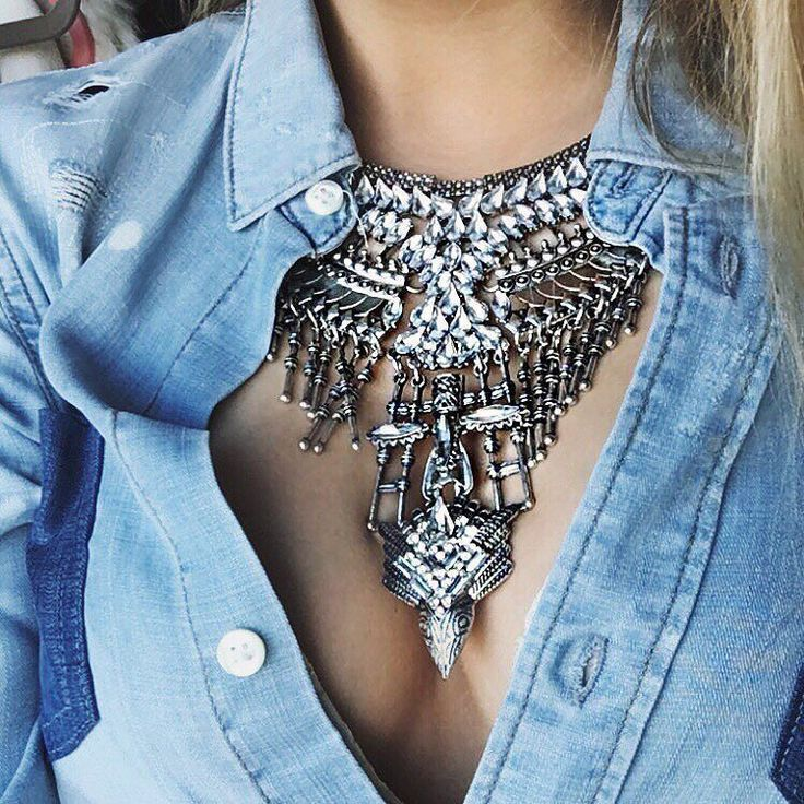 Photo of Legend Boho Statement Necklace – Happiness Boutique