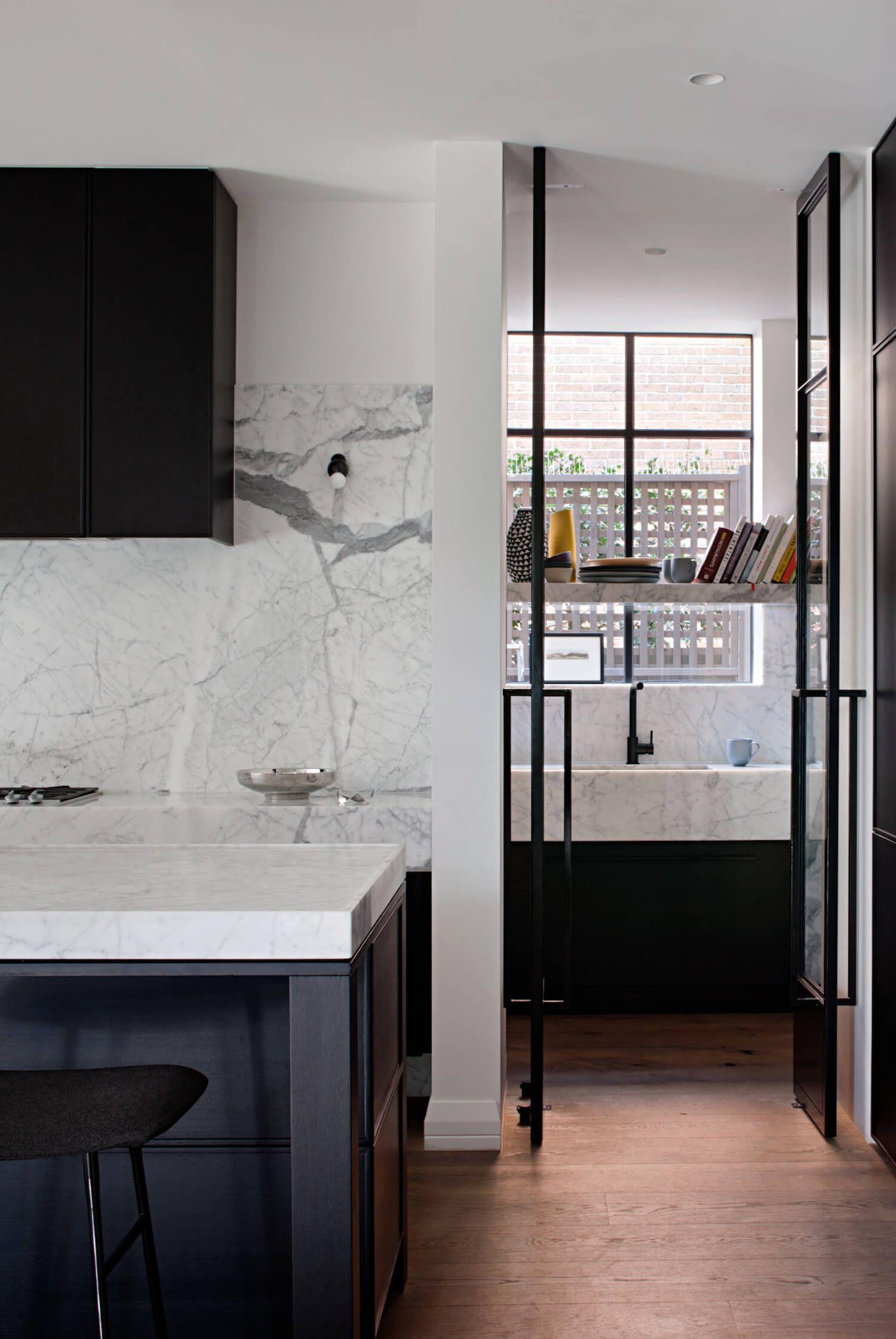 Interior Design Of Kitchen Room: Toorak Residence By Hecker Guthrie