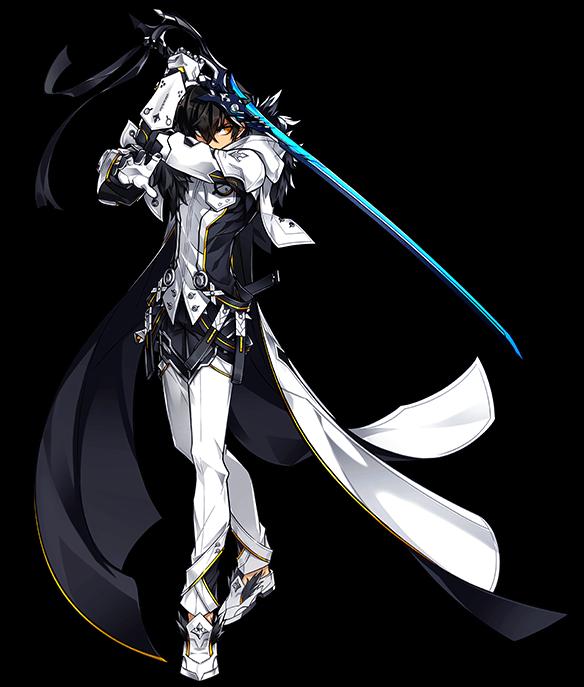Portrait Furious Bladenofx Png Anime Character Design Elsword Game Character Design