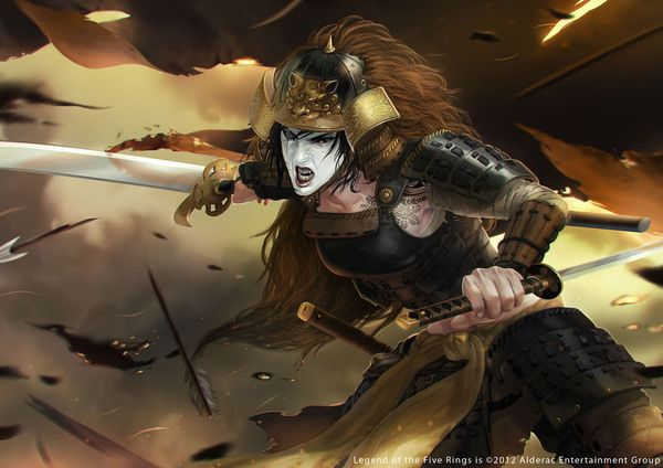 LEGEND OF THE FIVE RINGS TCG by Caravan Studio