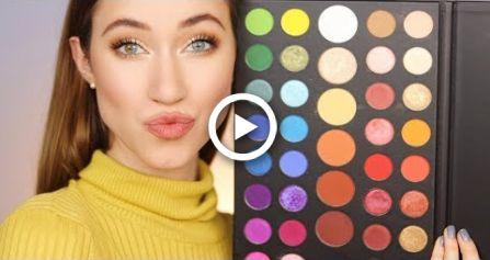 easy everyday james charles palette tutorial makeup