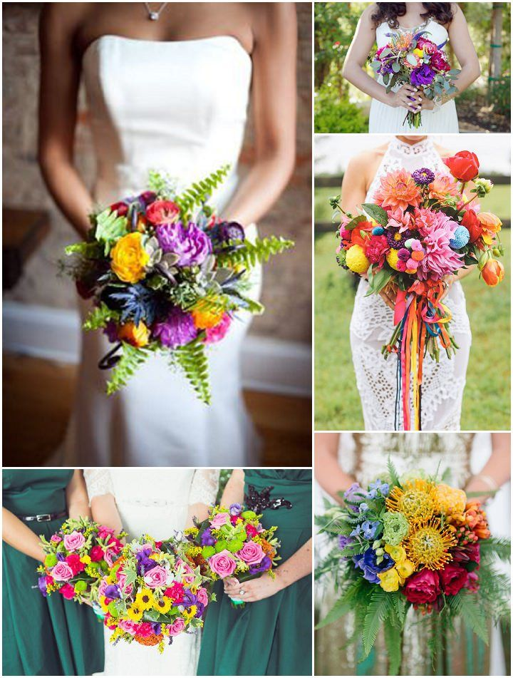 Ideas and Inspiration for your Rainbow Wedding: Boho Weddings - UK Wedding Blog
