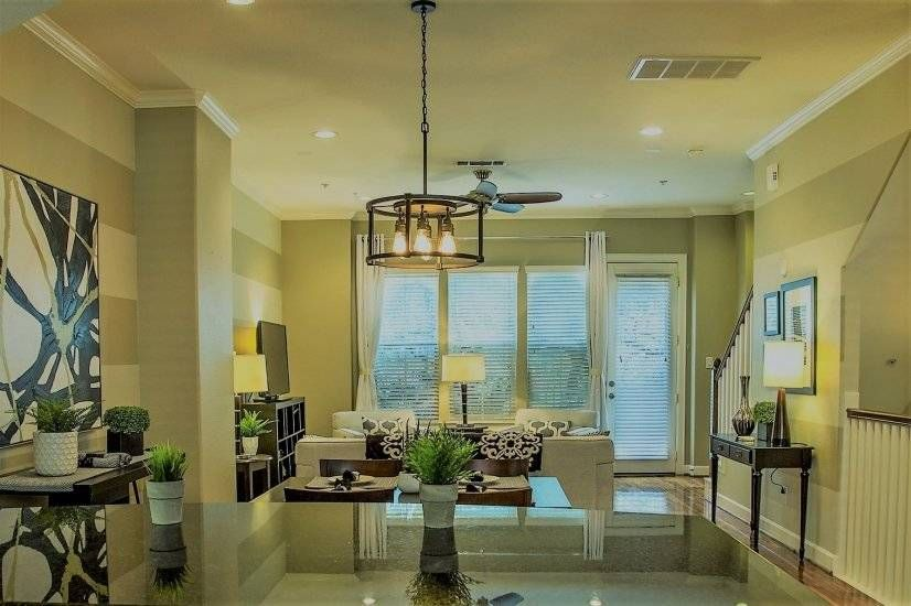 Luxury Townhouse Model Of Urban Living In The Center Of Houston Available For Rent In Texas Furnished Apartments For Rent Furnished Apartment Corporate Housing