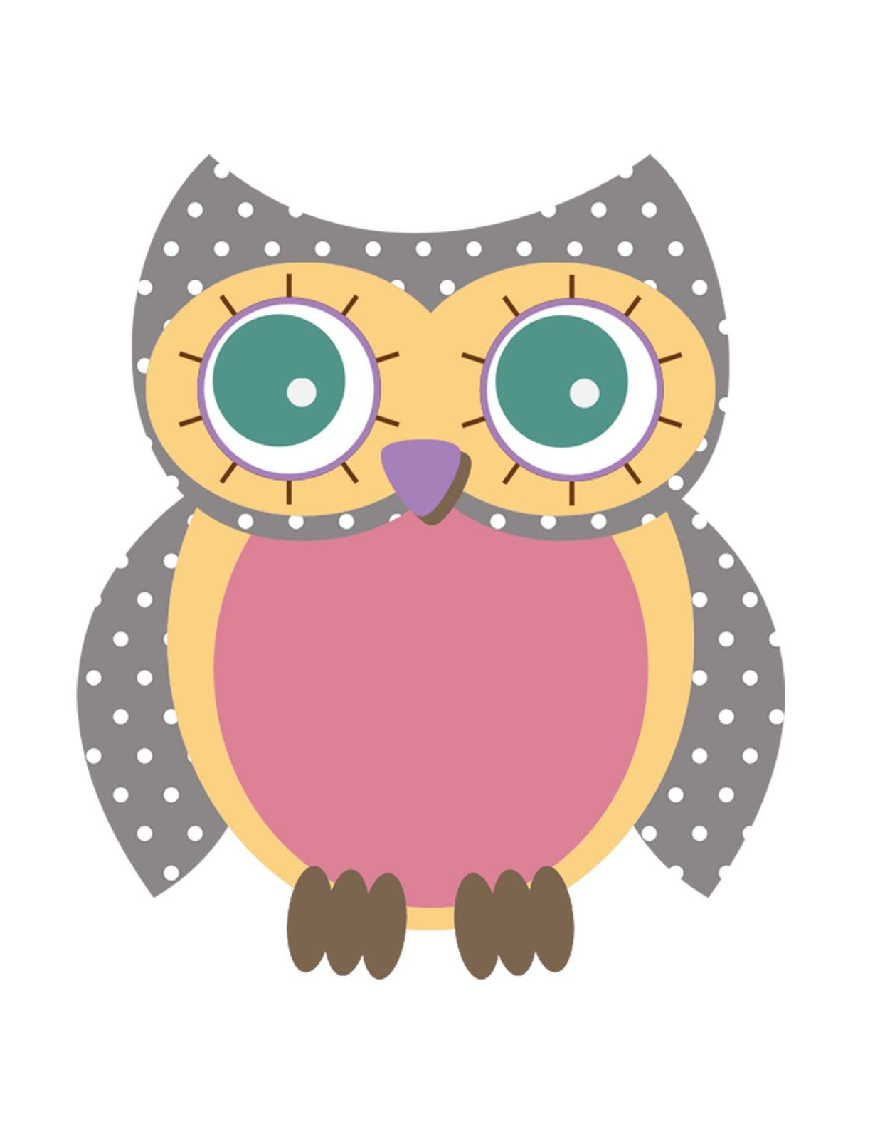 Effortless image with printable owl patterns