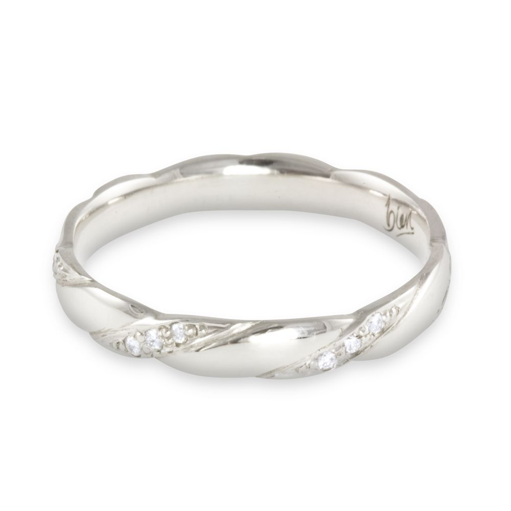 White Gold Diamond Wedding Rings For Women - JEWELRY GALLERY ...