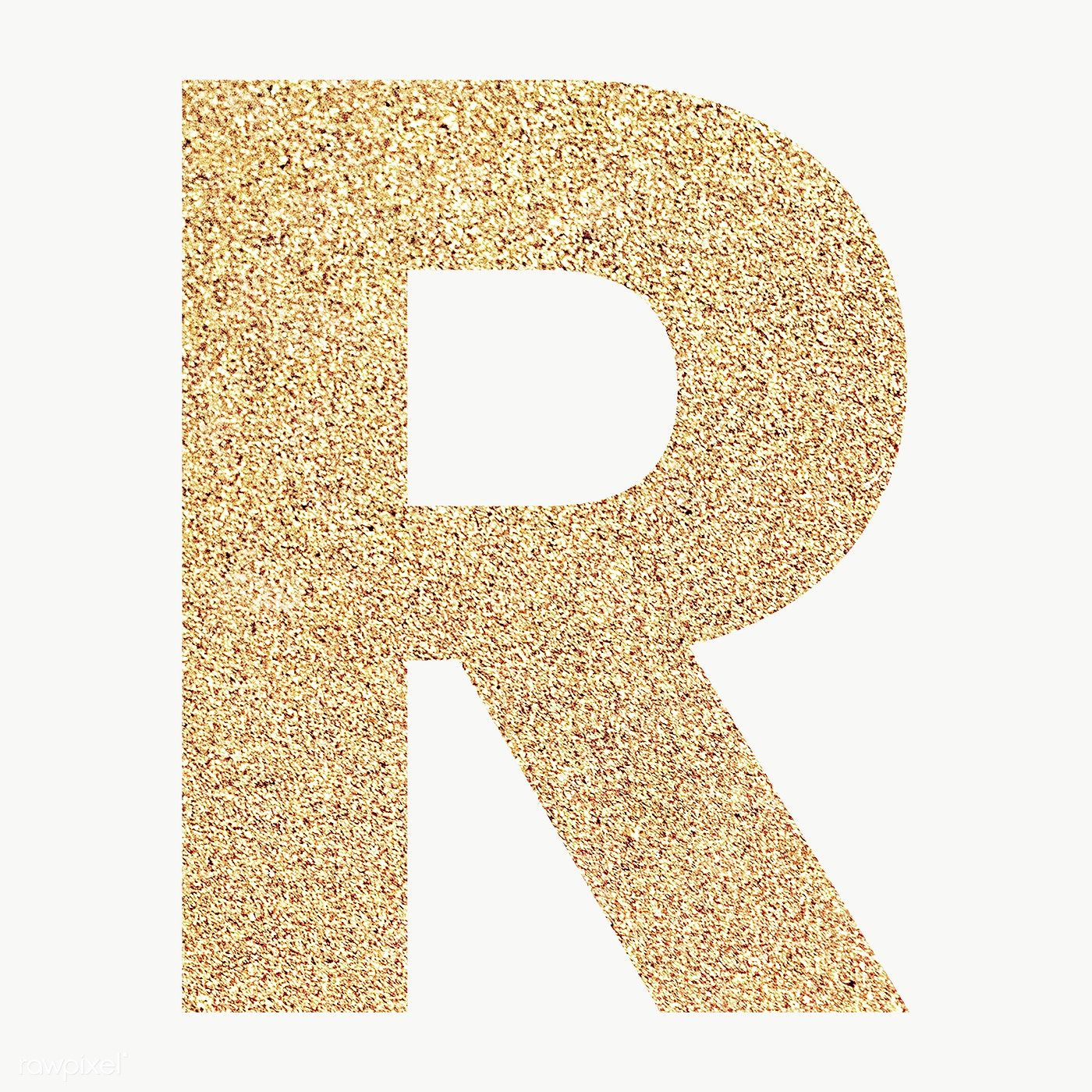 Glitter Capital Letter R Sticker Transparent Png Free Image By Rawpixel Com Ningzk V Transparent Stickers Letter R Glitter Letters