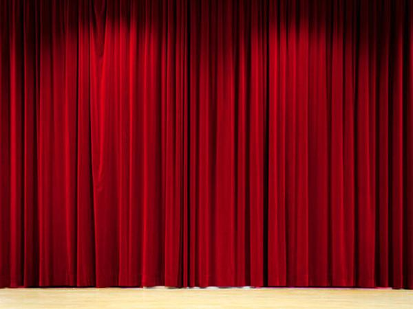 Kate Red Stage Curtain Cloth Theater Backdrop For