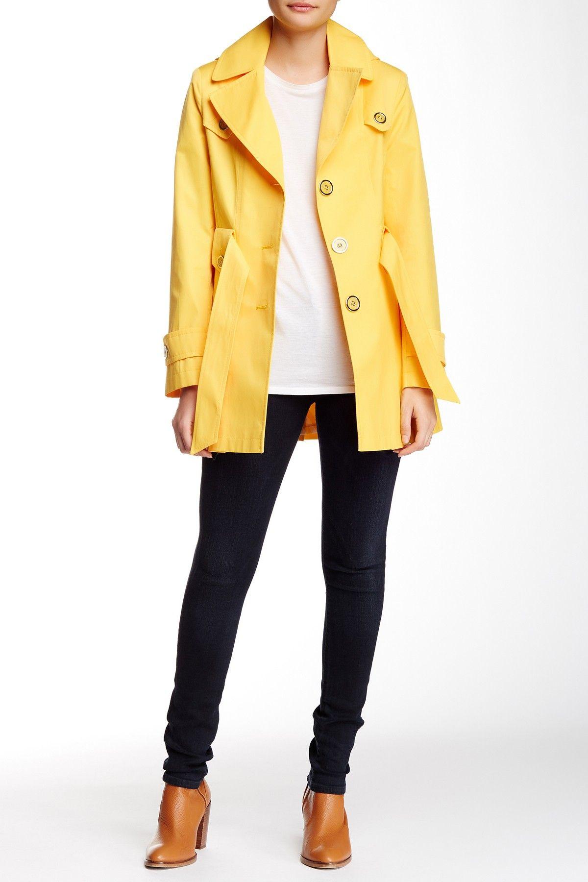 Via Spiga Hooded Scarpa Jacket (Petite Jackets