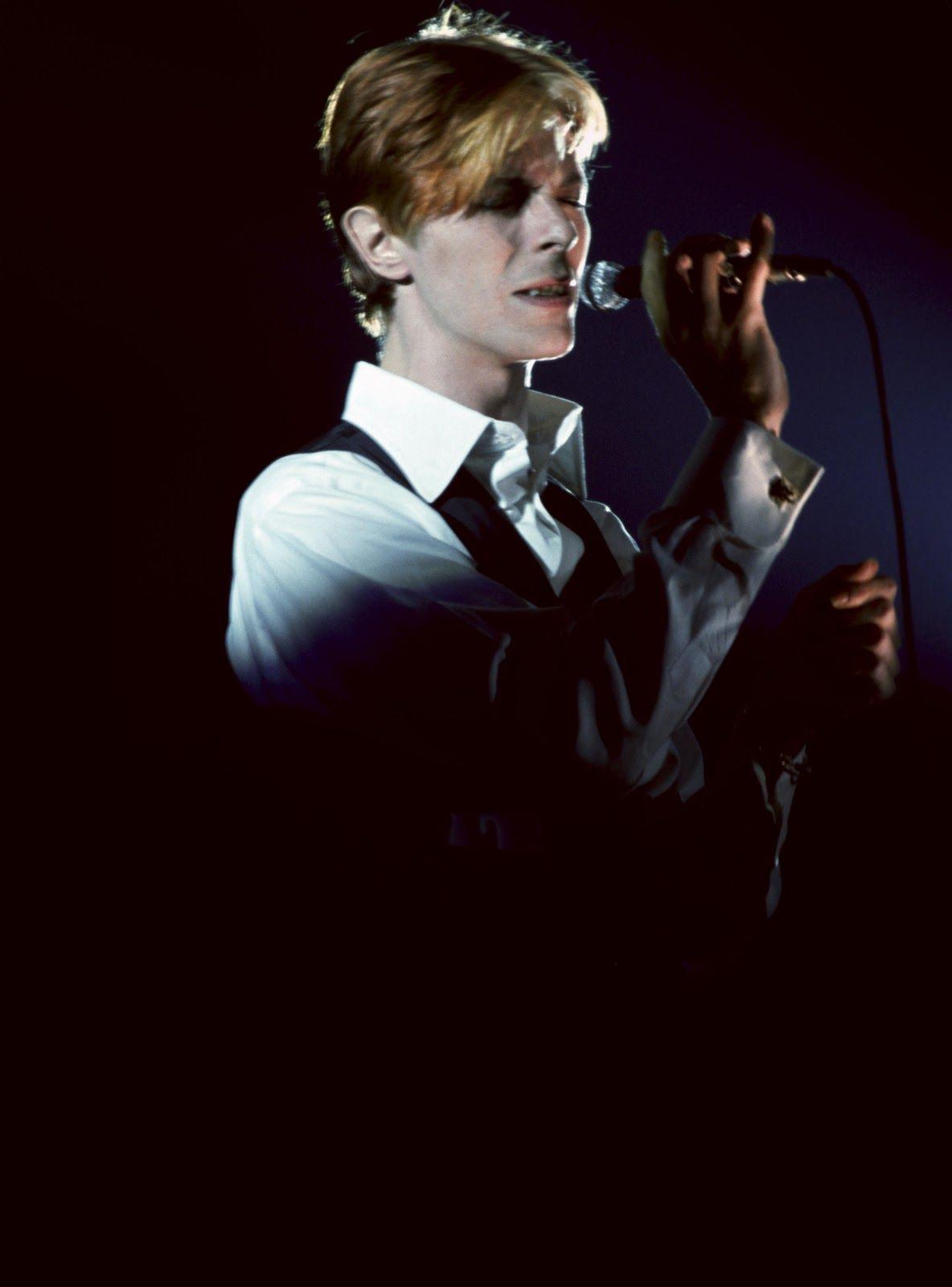 David bowie black tie white noise.