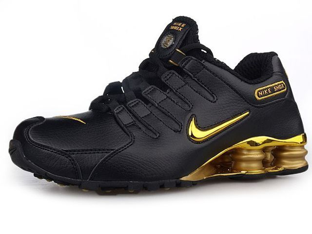 info for 4216b b1311 Chaussures Nike Shox NZ Noir  Or  nike 12079  - €49.94   Nike Chaussure Pas  Cher,Nike Blazer and Timerland www.facebook.com .