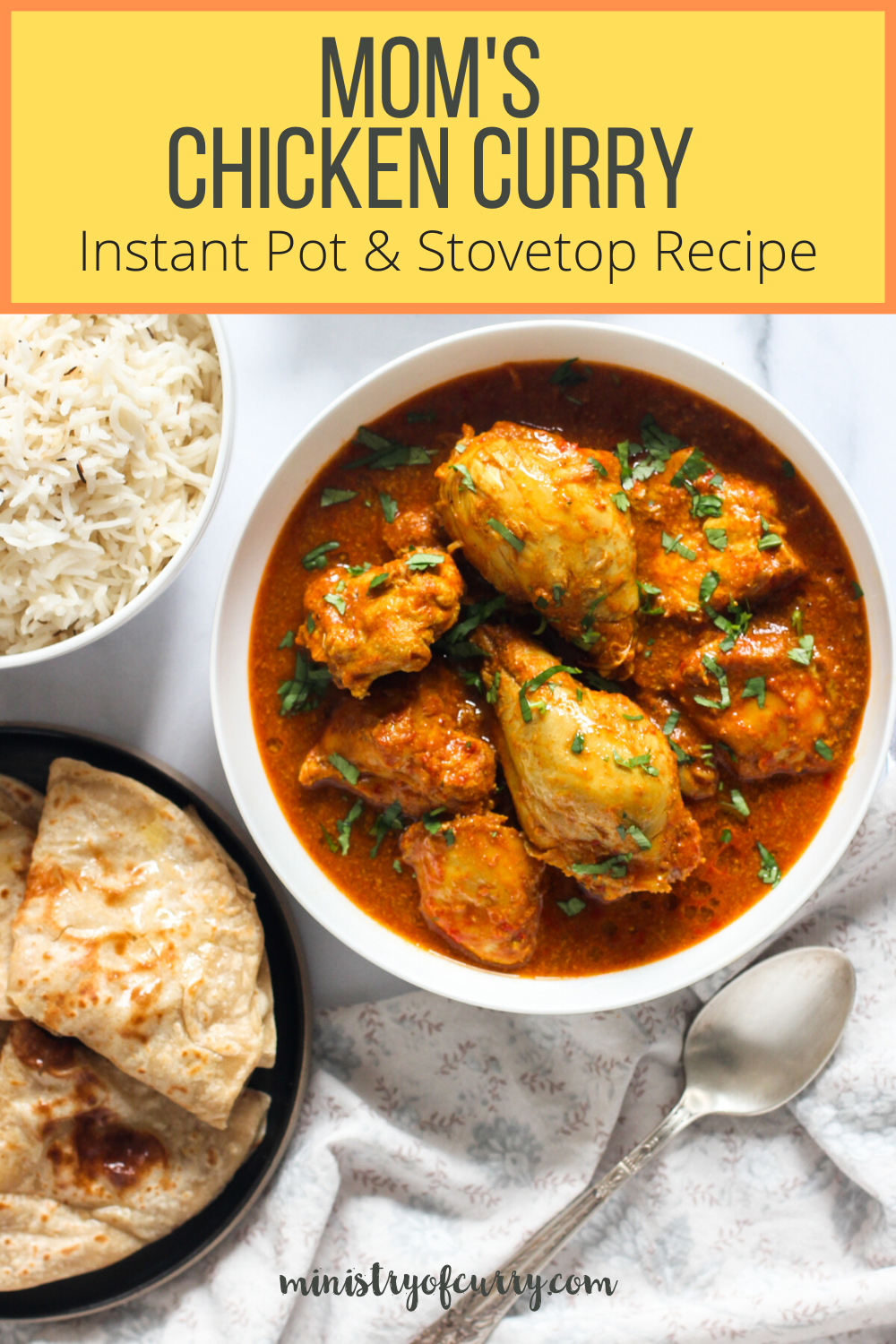 mom s chicken curry instant pot stove top recipe ministry of curry recipe in 2020 curry recipes instant pot curry recipe healthy curry recipe pinterest