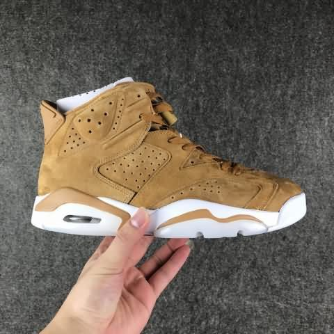 ccb556cb1fa31a Cheap Air Jordan 6 Suede AAA Men shoes  yellow Only Price  82 To Worldwide  and Free Shipping