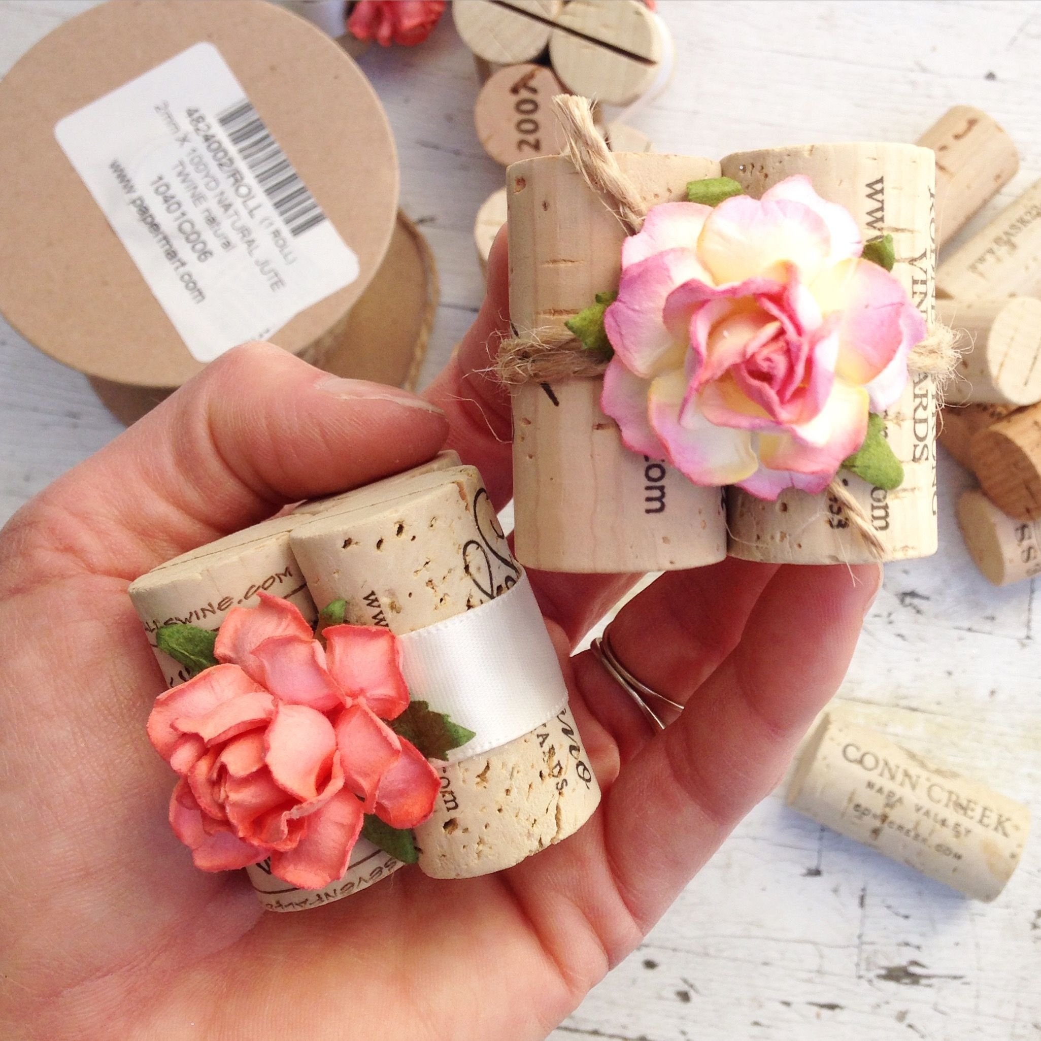 Customize The Perfect Rustic Winery Wedding Place Card Table Details At Www Karasvineyardwedd Place Card Holders Wedding Wine Cork Wedding Place Card Holders