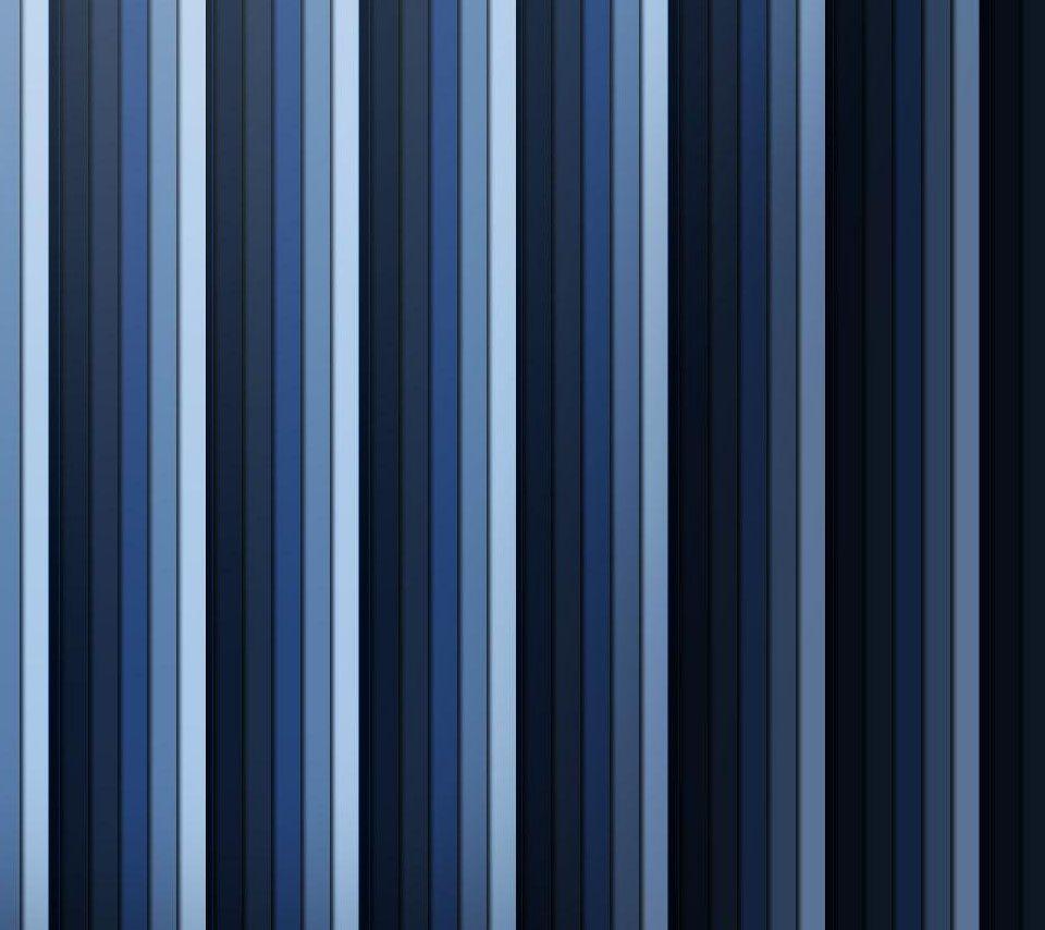 Nice 青の縦のストライプ Androidスマホ壁紙 スマホ壁紙 壁紙
