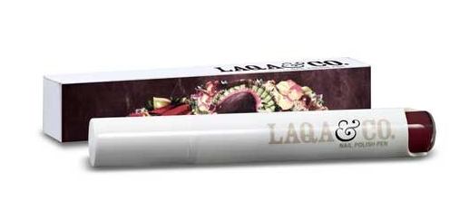 Beauty News Du Jour, October Edition: Ultra deep wine shade nail polish pen by LAQA & Co.