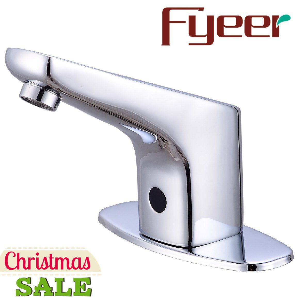 Fyeer Automatic Sensor Touchless Faucet, Motion Activated Hands-Free ...