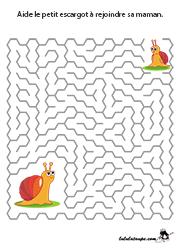 Jeu De Labyrinthe Avec Solution Enfants De 4 Ans Et Plus Jeux Gratuits Pour Enfants Labyrinthe A Imprimer Labyrinthe