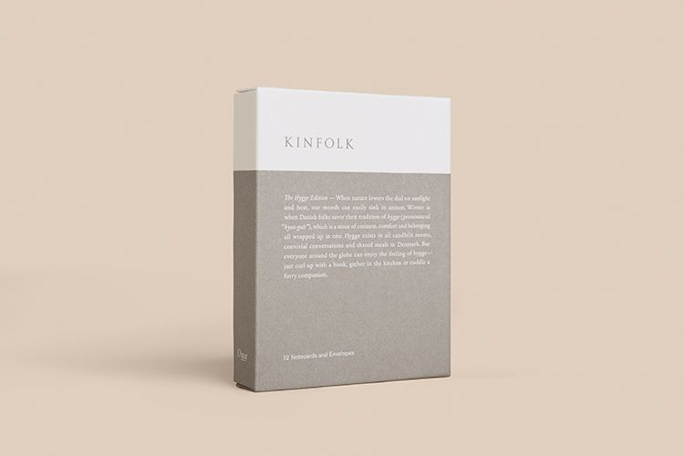 Kinfolk Notecard Collection—The Hygge Edition