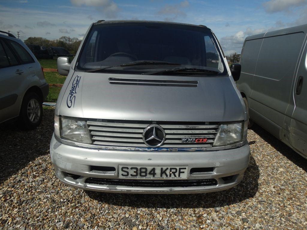 MERCEDES-BENZ VITO 1998, 177000 miles, £440 - Image 1 | Mercedes benz, Mercedes benz vito, Mercedes